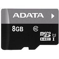 ADATA Micro SDHC 8GB UHS-I Class 10 + OTG čítačka - Pamäťová karta