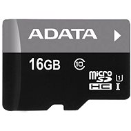 ADATA MicroSDHC 16 GB UHS-I Class 10 + OTG čítačka - Pamäťová karta