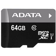 ADATA Micro SDXC 64GB UHS-I Class 10 + OTG čítačka - Pamäťová karta