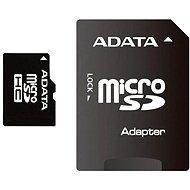 ADATA MicroSDHC 16 GB Class 4 + SD adaptér - Pamäťová karta