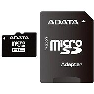 ADATA MicroSDHC 32 GB Class 4 + SD adaptér - Pamäťová karta