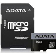 ADATA Premier Pro V30S microSDHC 16 GB UHS-I U3 + SD adaptér - Pamäťová karta