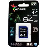 ADATA Premier Pro V30S SDXC 64 GB UHS-I U3 - Pamäťová karta