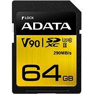 ADATA Premier ONE SDXC 64 GB UHS-II U3 Class 10 - Pamäťová karta