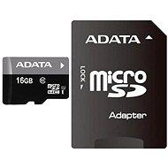 ADATA Premier MicroSDHC 16 GB UHS-I + SDHC adaptér - Pamäťová karta