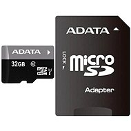 ADATA Premier MicroSDHC 32 GB UHS-I + SDHC adaptér - Pamäťová karta