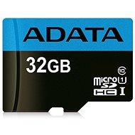 ADATA Premier microSDHC 32 GB UHS-I A1 Class 10 - Pamäťová karta