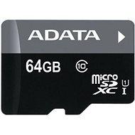 ADATA Premier microSDXC 64 GB UHS-I A1 Class 10 + SD adaptér - Pamäťová karta