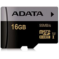 ADATA Premier Micro SDHC 16 GB UHS-I U3 Class 10 - Pamäťová karta
