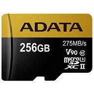 ADATA Premier ONE MicroSDXC 256 GB USH-II U3 Class 10 - Pamäťová karta