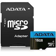 ADATA Premier Micro SDHC 16 GB UHS-I Class 10 + SD adaptér - Pamäťová karta