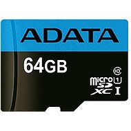 ADATA Premier microSDXC 64GB UHS-I Class 10 - Pamäťová karta