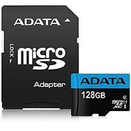 ADATA Premier Micro SDXC 128 GB UHS-I Class 10 + SD adaptér - Pamäťová karta