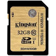 Kingston SDHC 32 GB UHS-I Class 10 - Pamäťová karta