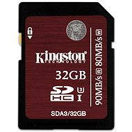Kingston SDHC 32 GB Class 10 UHS-I U3 - Pamäťová karta