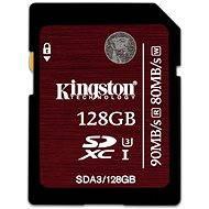 Kingston SDXC 128 GB UHS-I Speed Class 3 - Pamäťová karta
