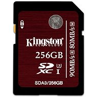 Kingston SDXC 256 GB UHS-I Speed Class 3 - Pamäťová karta