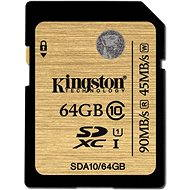 Kingston SDXC 64 GB UHS-I Class 10 - Pamäťová karta