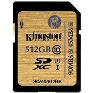Kingston SDXC 512 GB UHS-I Class 10 - Pamäťová karta