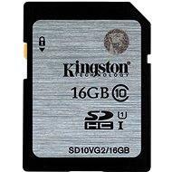 Kingston SDHC 16 GB Class 10 UHS-I - Pamäťová karta