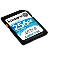 Kingston Canvas Go! MicroSDXC 256GB UHS-I U3 + SD adaptér