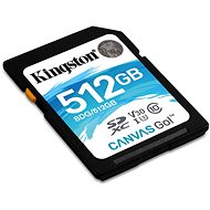Kingston Canvas Go! SDXC 512 GB UHS-I U3 - Pamäťová karta