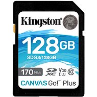 Kingston Canvas Go! Plus SDXC 128GB - Pamäťová karta