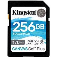 Kingston Canvas Go! Plus SDXC 256GB - Pamäťová karta