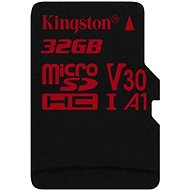 Kingston Canvas React microSDHC 32 GB UHS-I V30