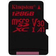 Kingston Canvas React MicroSDXC 128 GB A1 UHS-I V30 - Pamäťová karta