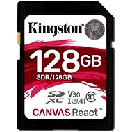 Kingston Canvas React SDXC 128 GB A1 UHS-I V30