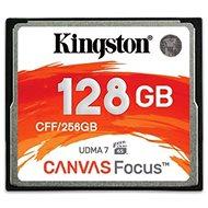 Kingston Compact Flash 128 GB Canvas Focus - Pamäťová karta