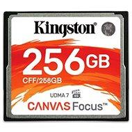 Kingston Compact Flash 256 GB Canvas Focus - Pamäťová karta