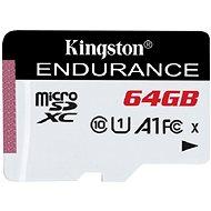 Kingston Endurance micro SDXC 64GB A1 UHS-I C10 - Pamäťová karta