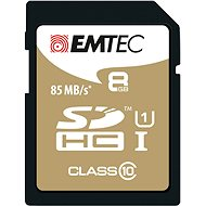 EMTEC SDHC 8GB Gold Plus Class 10 - Pamäťová karta