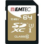 EMTEC SDXC 64GB Speed`In Class 10 UHS-I U3 - Pamäťová karta