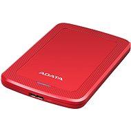 """ADATA HV300 externý HDD 1 TB 2,5"""" USB 3.1, červený"""