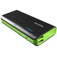 ADATA PT100 Power Bank 10 000 mAh čierno-zelený