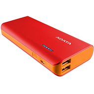 ADATA PT100 Power Bank 10 000 mAh červeno-oranžový - Power Bank
