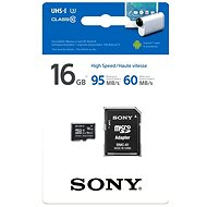 Sony MicroSDHC 16 GB Class 10 + SD adaptér - Pamäťová karta