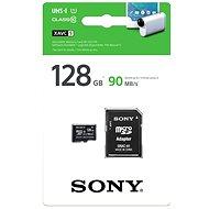 Sony micro SDXC 128GB Class 10 UHS – I, rýchlosť čítania 90MB/s + SD adaptér - Pamäťová karta