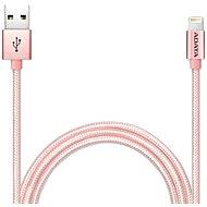 ADATA Lightning MFi 1m Rose Gold - Dátový kábel