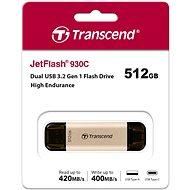 Transcend Speed Drive JF930C 512 GB - USB kľúč
