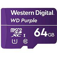 WD Purple QD101 SDXC 64GB - Pamäťová karta