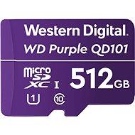 WD Purple QD101 SDXC 512GB - Pamäťová karta