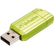 Verbatim Store 'n' Go PinStripe 16 GB, eukalyptovo zelený - USB kľúč