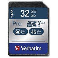 VERBATIM Pro SDHC 32 GB - Pamäťová karta