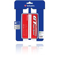 "Verbatim 2,5"" GT Superspeed USB HDD 500GB Red/white - Externý disk"