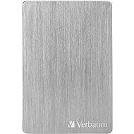 VERBATIM Store´n´ Go ALU Slim 1 TB, strieborný - Externý disk