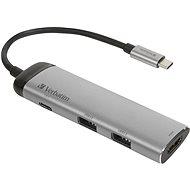 VERBATIM USB-C Multiport HUB USB 3.1 GEN 1/2× USB 3.0/HDMI - Replikátor portov